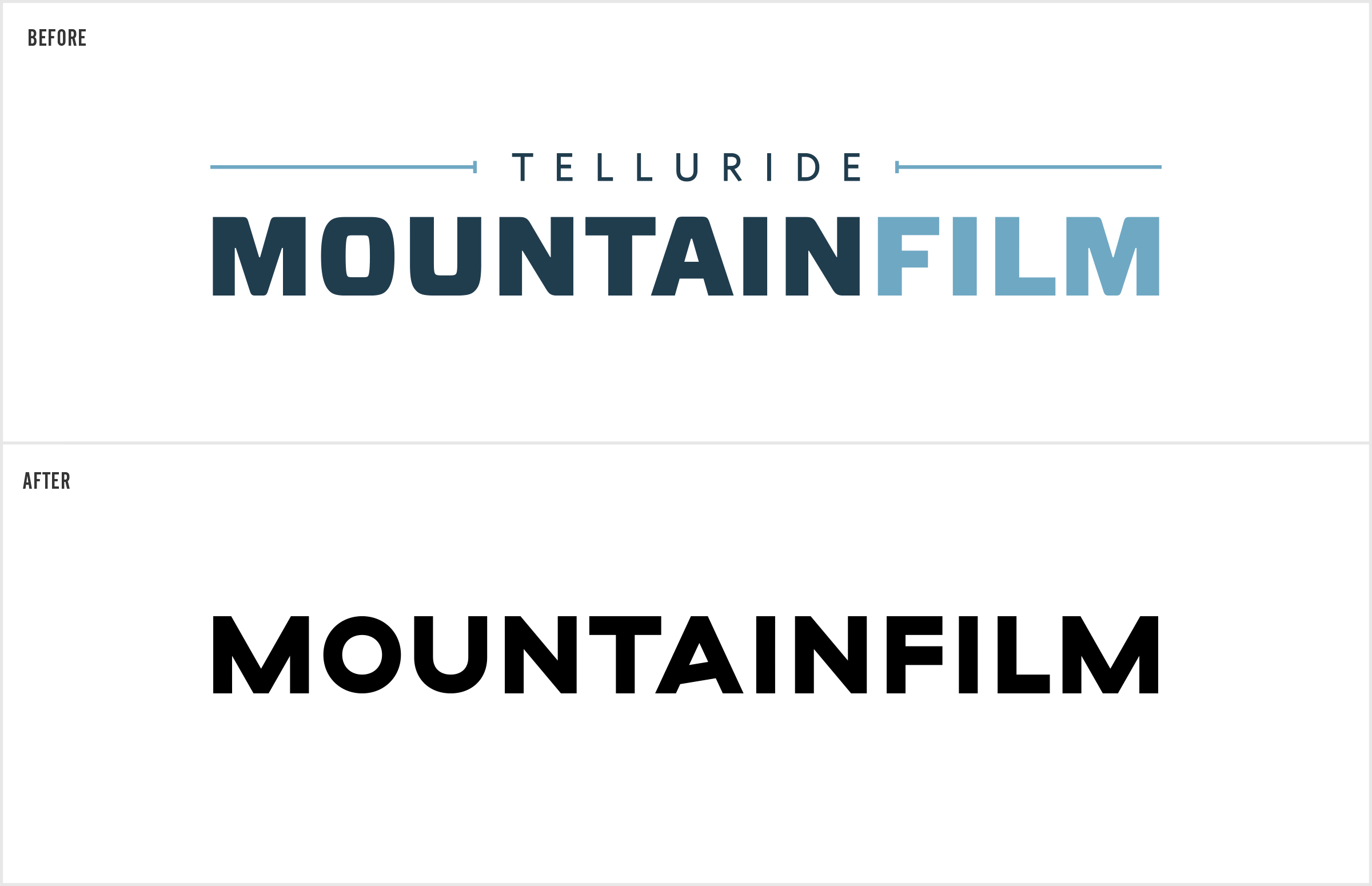 our bold new look mountainfilm