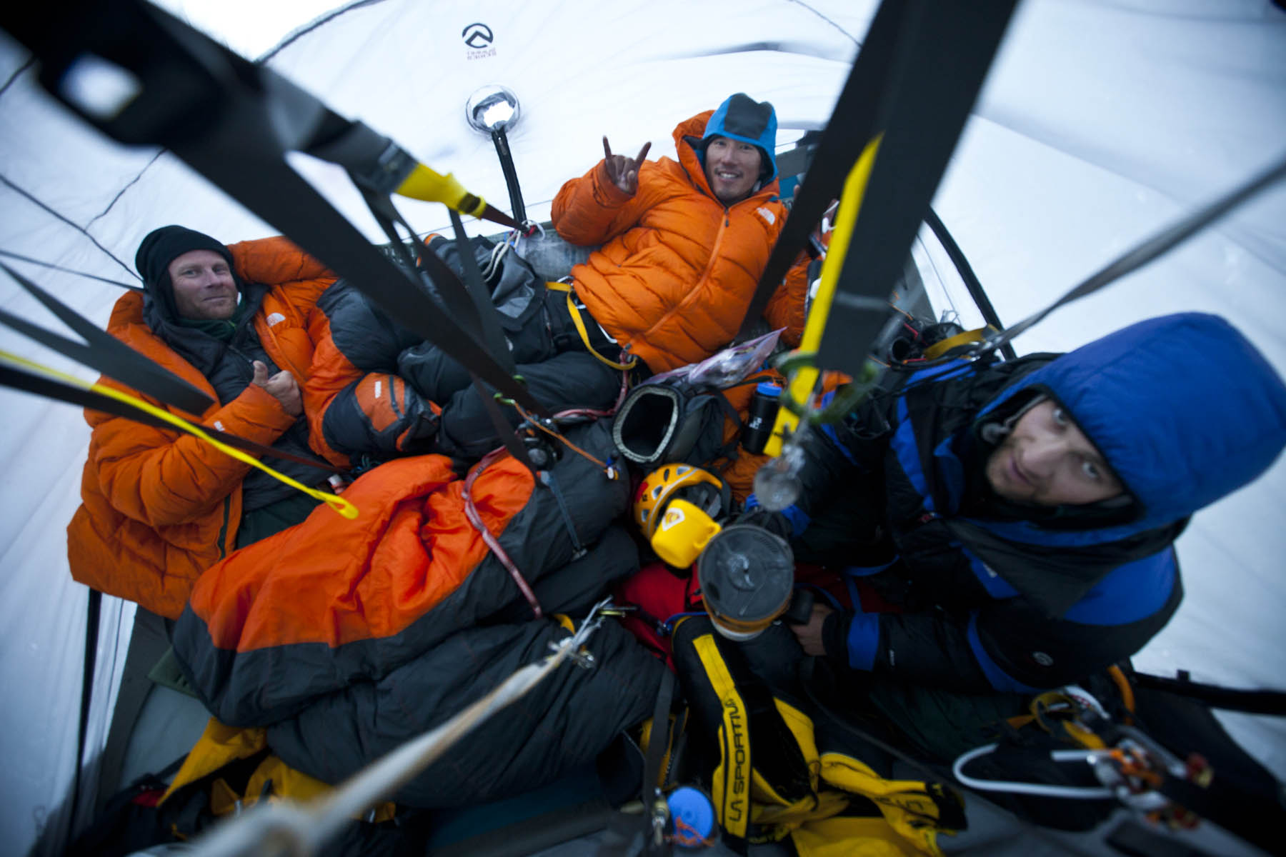 Mountainfilm Regulars Are The First Up The NW Face Of Meru ...
