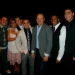 Tosh Hall and Oscar Fernandez with Kevin Spacey