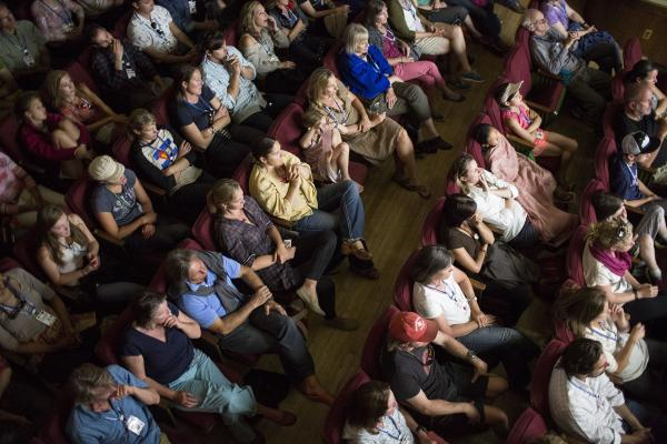 Telluride Mountainfilm Theater Audience