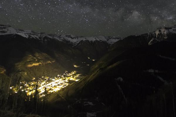 Telluride at Night - Ben Canales