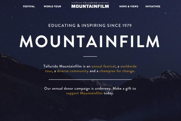 Mountainfilm Website