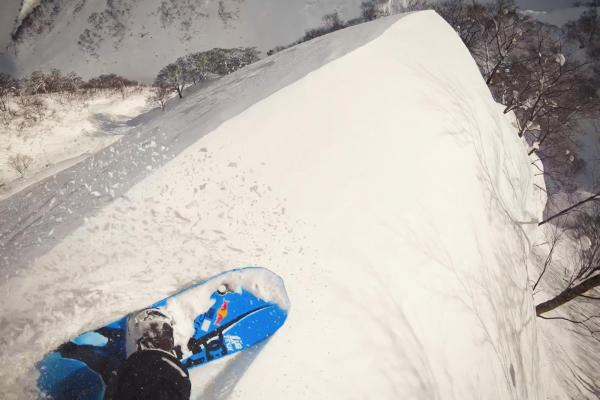 Travis Rice Rides Epic Spine Line in Japan
