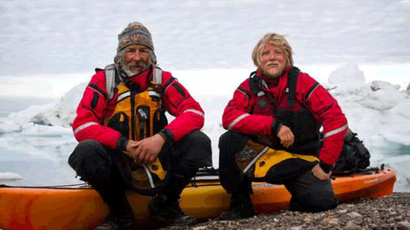 The Nat Geo People's 2012 Adventurers: Jon Turk and Erik Boomer Don't Scare the Wind