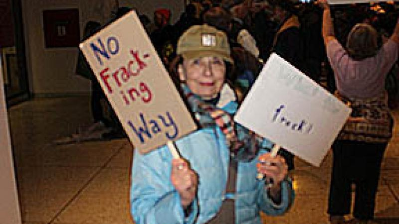 No Fracking Way: A Report from New York's Rally