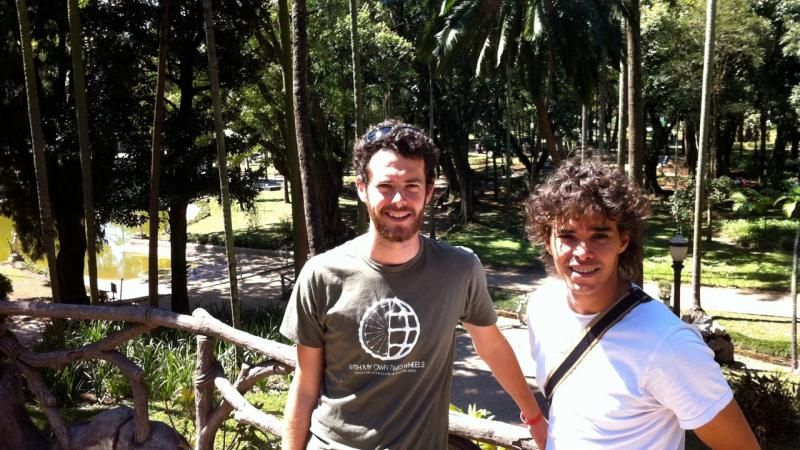 A wild day as Mountainfilm's World Tour checks in from Sao Paulo, Brazil