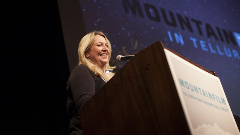 2015 Judge Cheryl Strayed: The Power of Mountainfilm