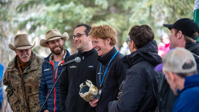 Unbranded Subject Ben Masters on His First Mountainfilm