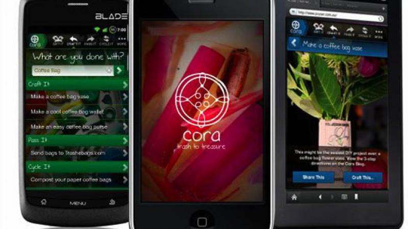 Cora: The App that Will Convert Trash to Treasure