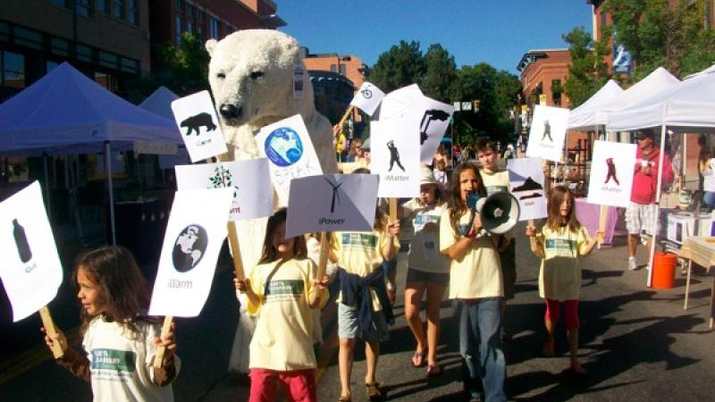 March For the Planet: iMatter March, May 7th-14th