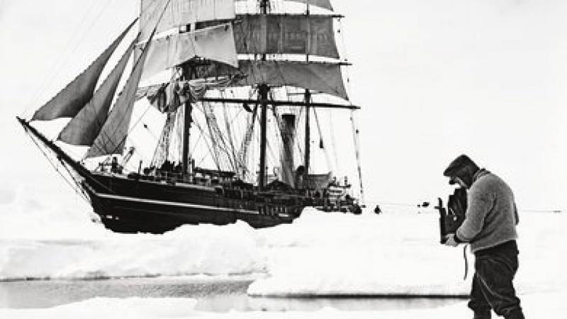 Lost Photos From One Of The First South Pole Expeditions Resurface