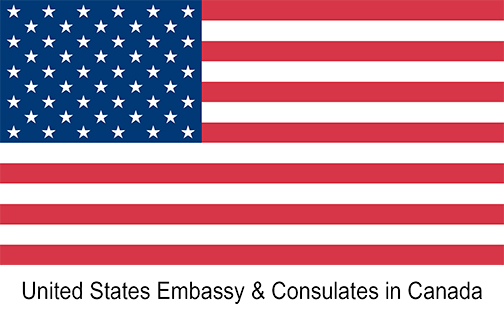 United States Embassy and Consulates in Canada